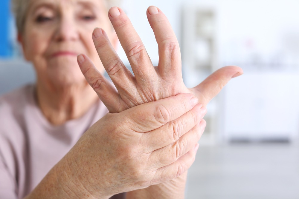 Someone With Arthritis